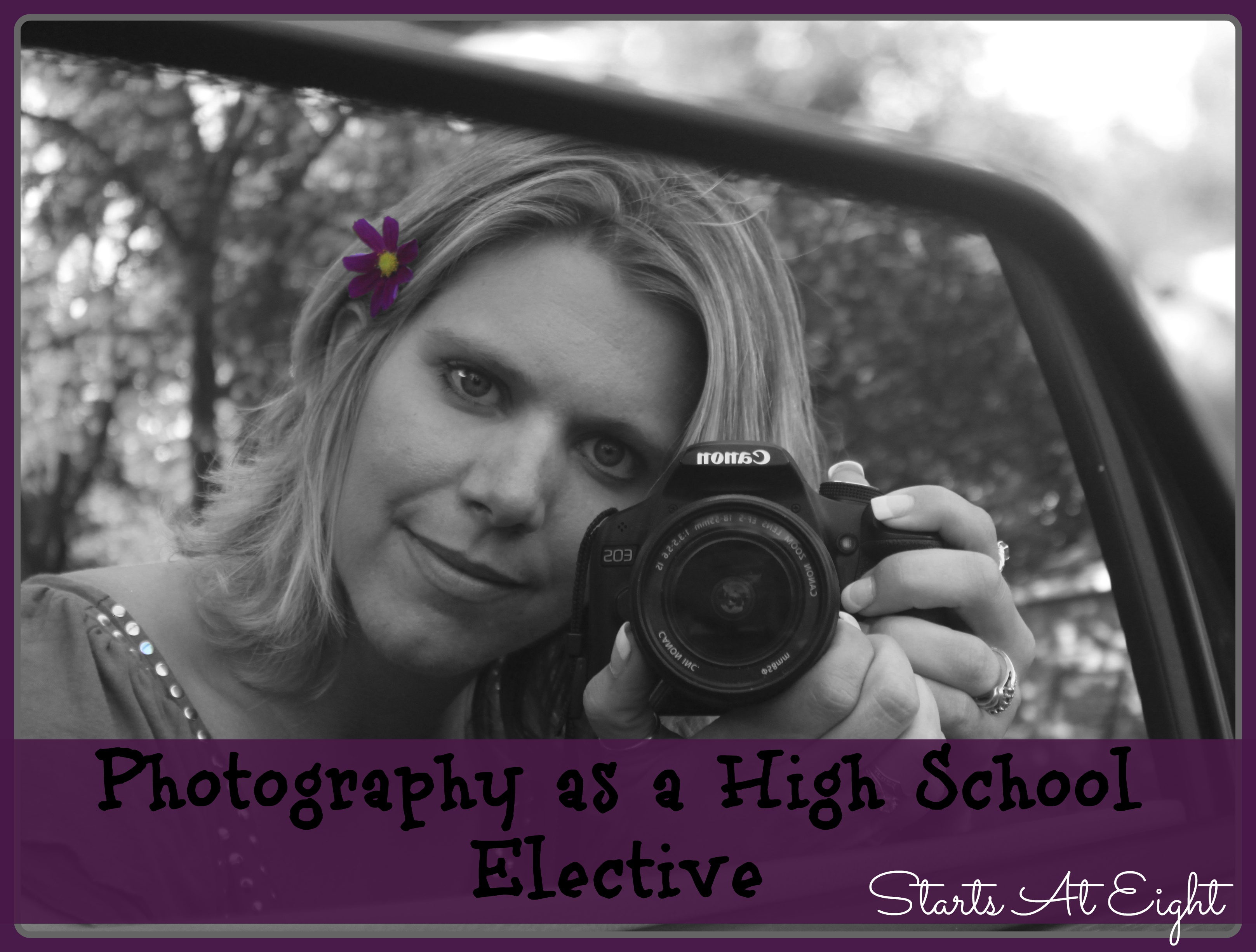 Photography as a High School Elective