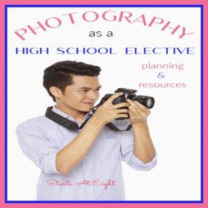 Photography as a High School Elective