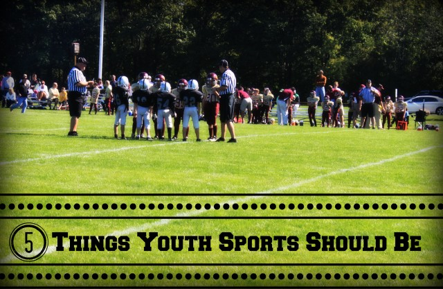 5 Things Youth Sports Should Be from StartsAtEight