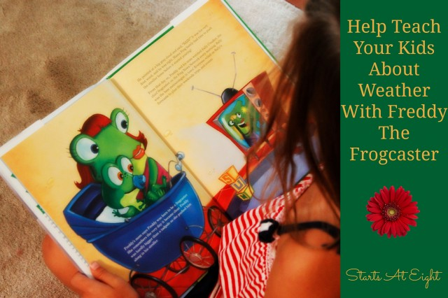 Help Teach Kids About Weather with Freddy The Frogcaster from Starts At Eight