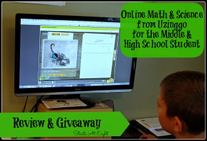 Online Math & Science from Uzinggo for the Middle & High School Student