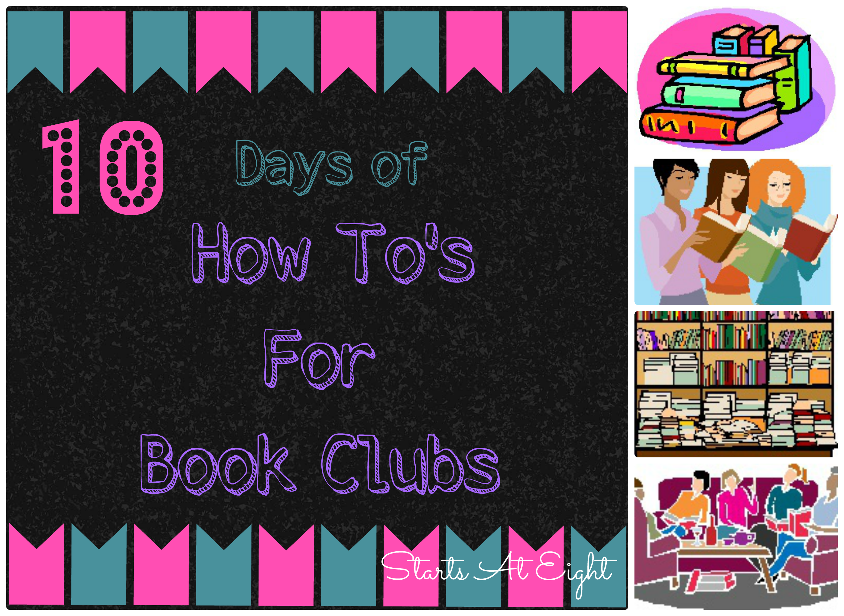 10 Days of…. The How To's For Book Clubs