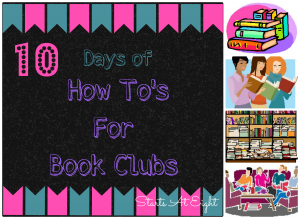 10 Days of How To's For Book Clubs