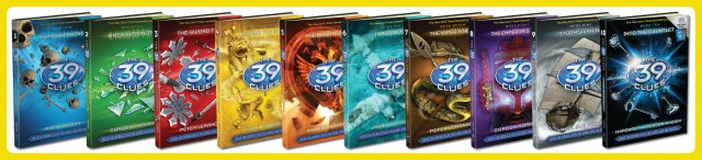39 Clues Book Series