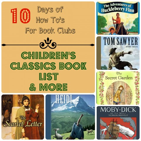 Children's Classics Book List from Starts At Eight