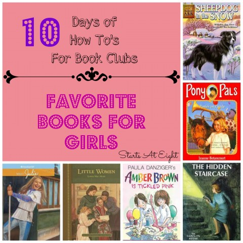 Favorite Books For Girls