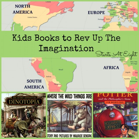 Kids Books to Rev Up The Imagination from StartsAtEight