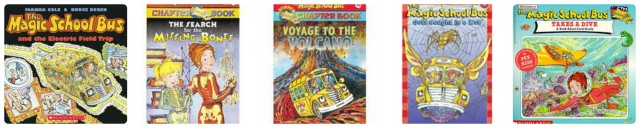 Magic School Bus Books