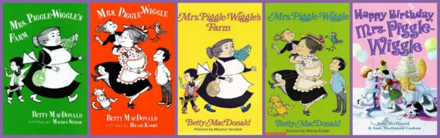 Mrs Piggle Wiggle Books