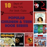 The How To's For Book Clubs:  Popular Children & Teen Book Series