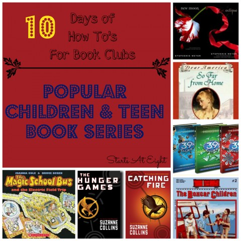 Popular Children & Teen Book Series from Starts At Eight