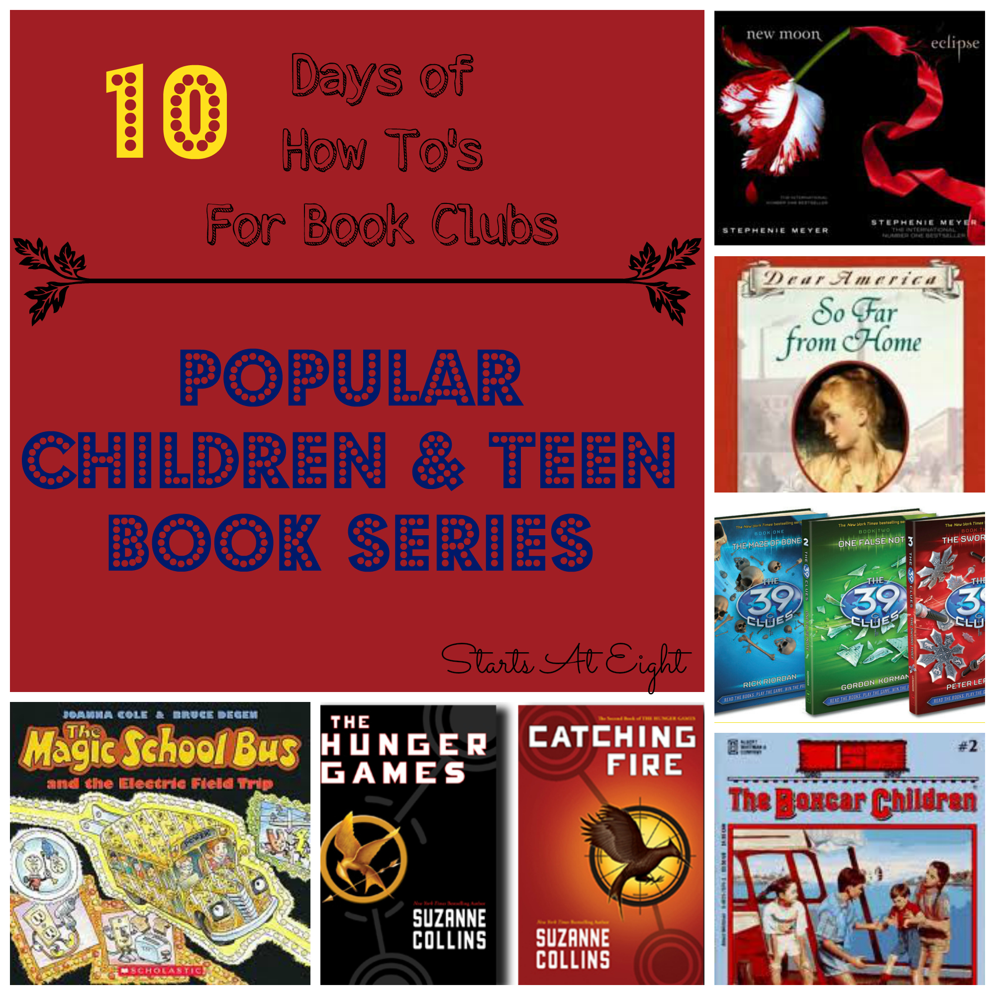 The How To S For Book Clubs Popular Children Teen Book Series