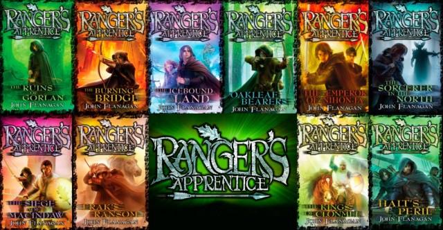 Ranger's Apprentice Books