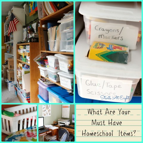 What Are Your Must Have Homeschool Items 2013