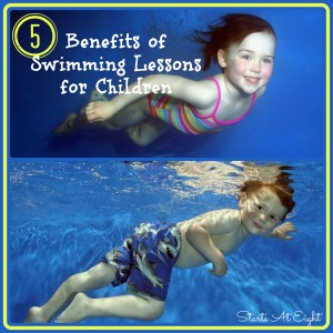 5 Benefits of Swimming Lessons for Children from Starts At Eight