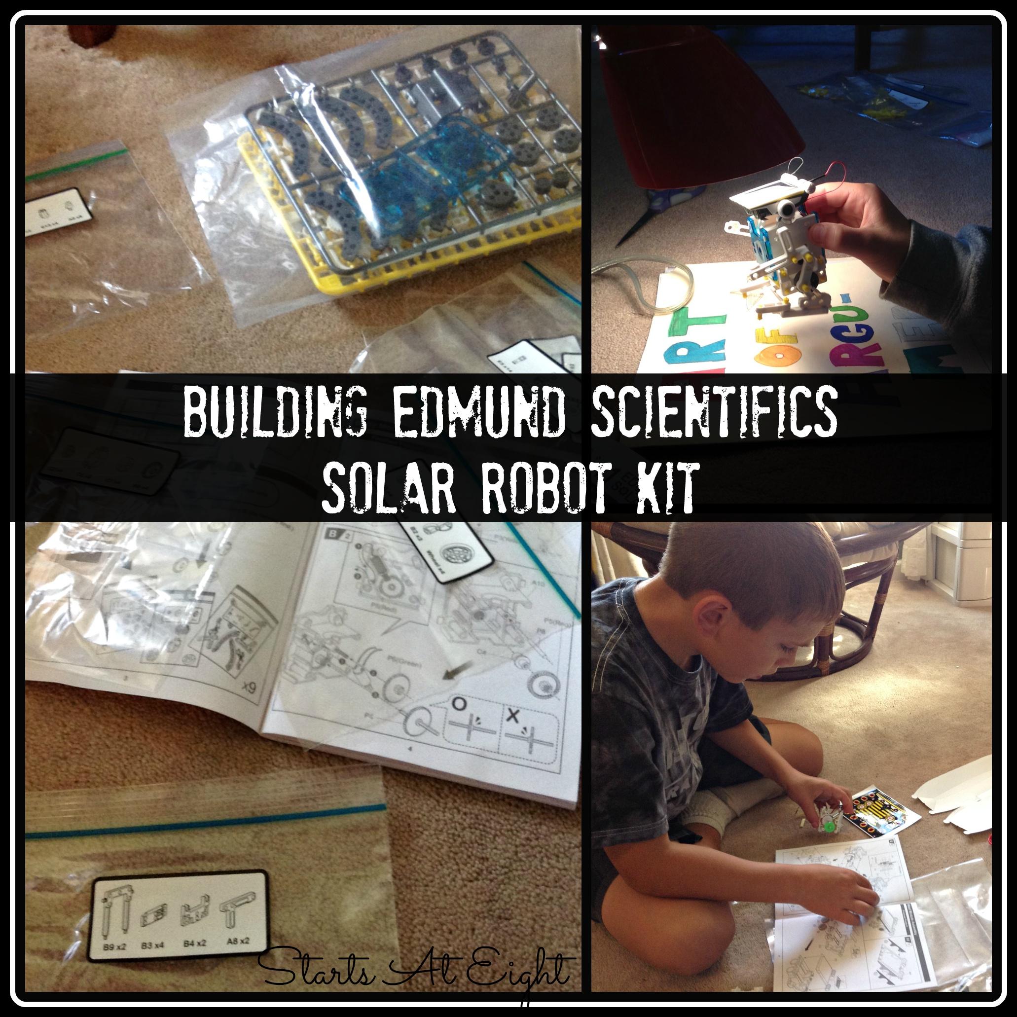 Building Edmund Scientifics Solar Robot Kit