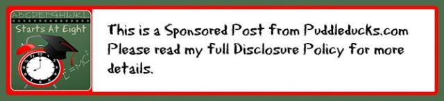 Sponsored Post Puddleducks Disclaimer