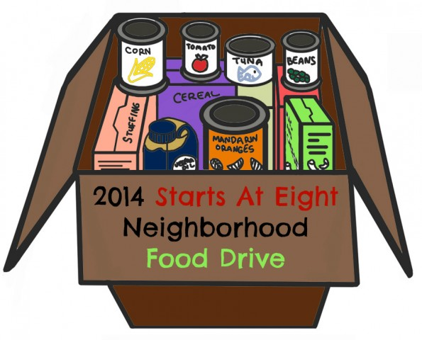 014 Starts At Eight Neighborhood Food Drive