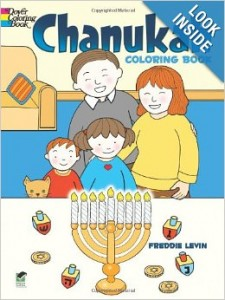 Hanukkah Coloring Books