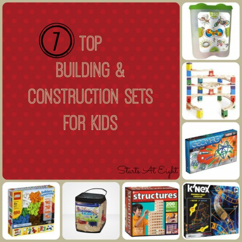 7 Top Building & Construction Sets For Kids from Starts At Eight