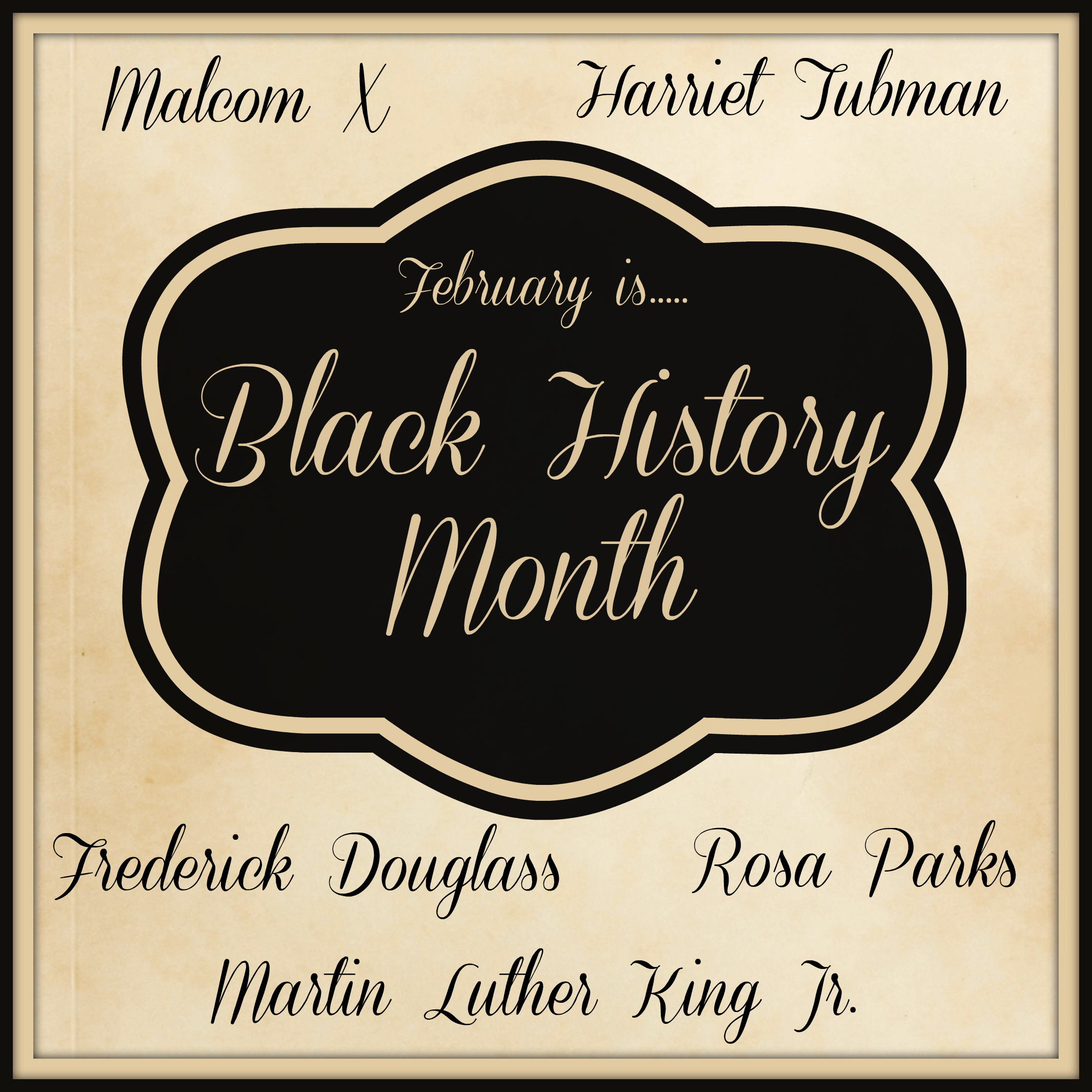 Everything Black History from Starts At Eight