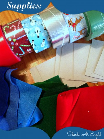 Duct Tape Christmas Craft Supplies