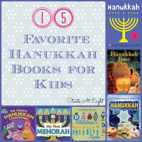 15+ Favorite Hanukkah Books for Kids from Starts At Eight