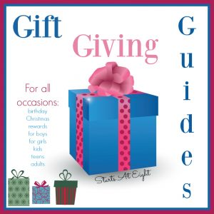 Gift Giving Guides from Starts At Eight