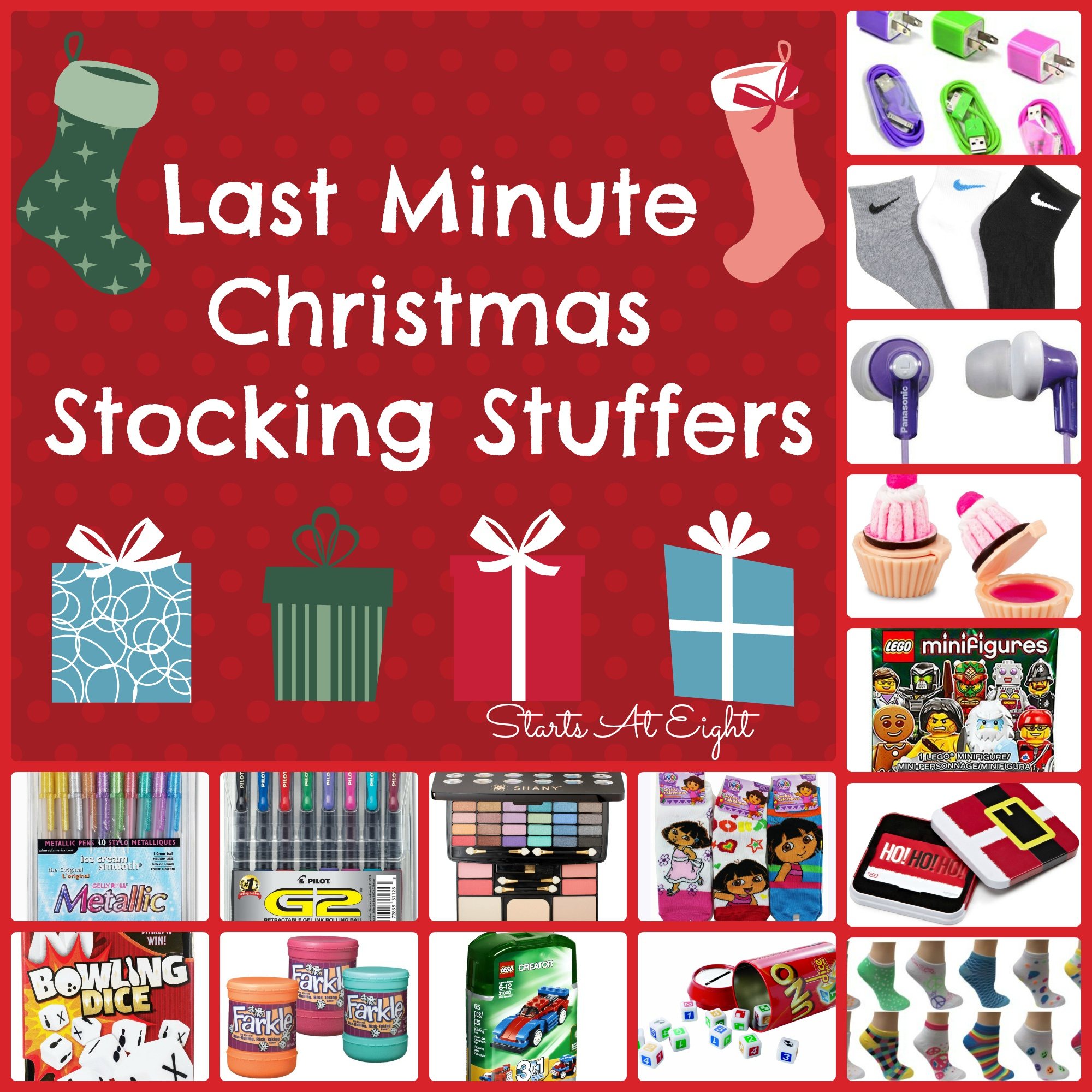 Last Minute Christmas Stocking Stuffers