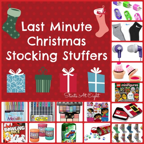 Last Minute Christmas Stocking Stuffers from Starts At Eight