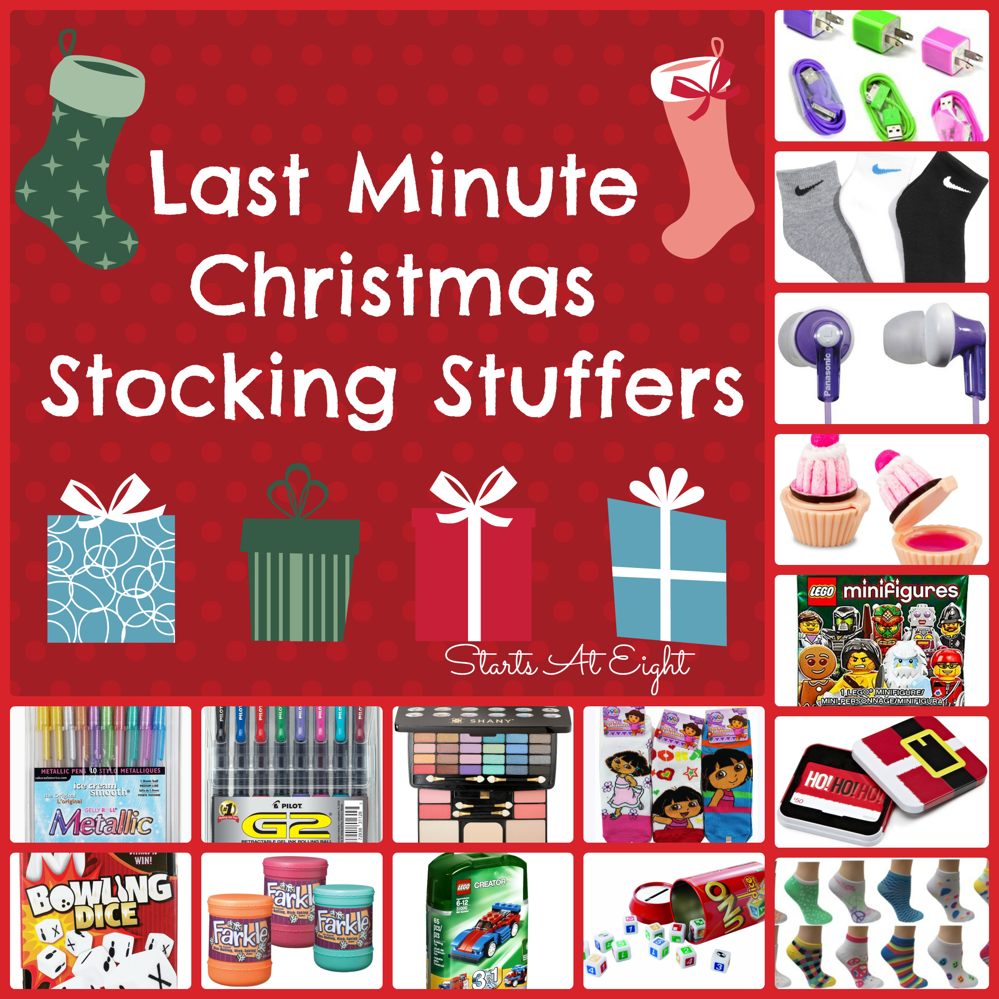 Christmas Stocking Stuffers last minute christmas stocking stuffers - startsateight