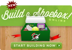 Operation Christmas Child - Build a Shoebox Online
