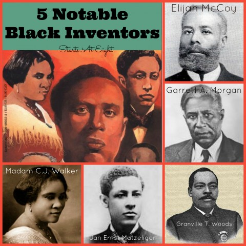 5 Notable Black Inventors from Starts At Eight