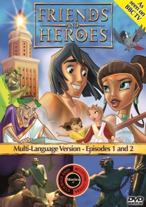Friends and Heroes Curriculum - DVD Cover