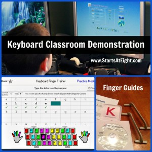 Keyboard Classroom Demonstration from Starts At Eight