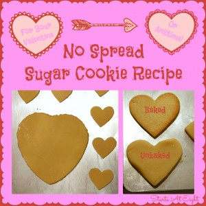 No Spread Sugar Cookie Recipe from Starts At Eight