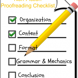 A Teen Writer's Non-Fiction Proofreading Checklist