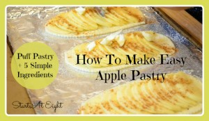 How to Make Easy Apple Pastry from Starts At Eight