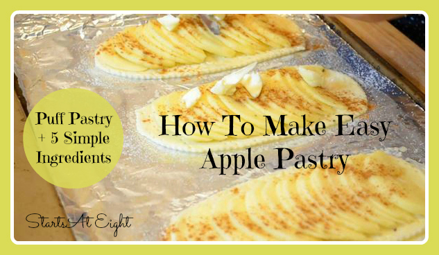 how to make easy pastry