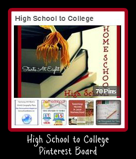 High School to College Pinterest Board from Starts At Eight
