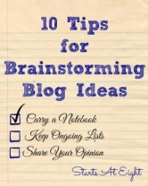 10 Tips for Brainstorming Blog Ideas
