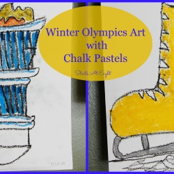 Winter Olympics Art With Chalk Pastels & Other Olympic Resources