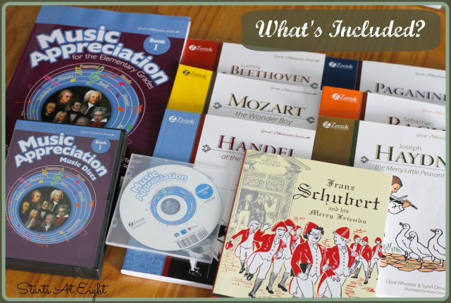 Zeezok Music Appreciation Curriculum What's Included from Starts At Eight