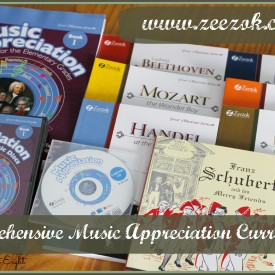 Comprehensive Zeezok Music Appreciation Curriculum Review from Starts At Eight