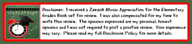 Zeezok Music Appreciation Curriculum Disclaimer from Starts At Eight