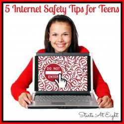 5 Internet Safety Tips for Teens