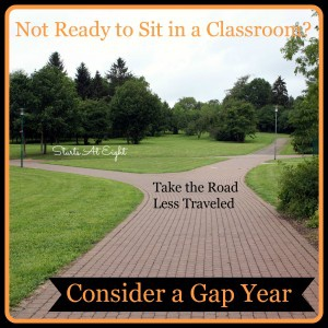 Not Ready to Sit in a Classroom? Consider a Gap Year Between High School & College