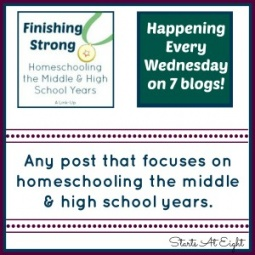 Finishing Strong ~ Homeschooling the Middle & High School Years 4/9/14