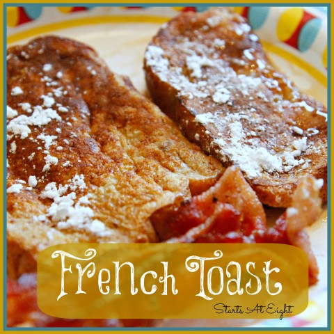 French Toast from Starts At Eight