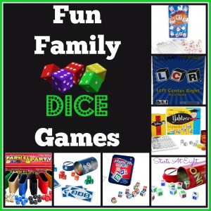 Fun Family Dice Games from Starts At Eight